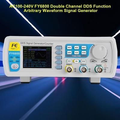 FeelElec FY6800 30/60MHz Function Arbitrary Waveform Pulse DDS Signal Generator