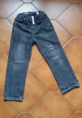 Guess boys jeans brit rocker slim straight size 4 years old made in Italy
