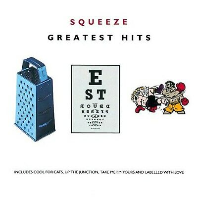 SQUEEZE GREATEST HITS Original Recording Remastered Audio Music CD Hit Track New