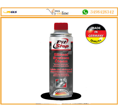 ADDITIVO TRATTAMENTO PULITORE MOTORE DIESEL PIT STOP 250 ml. diminuisce emission