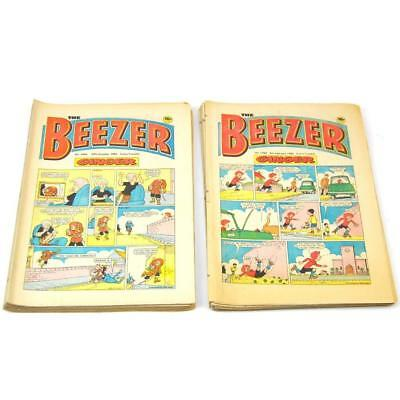 Beezer Comic Bundle X 20 - Ten 1983 Editions Ten 1984 Editions FREE Postage