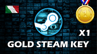 Random Steam Key per PC GOLD (e-mail con codice per download digitale del gioco)