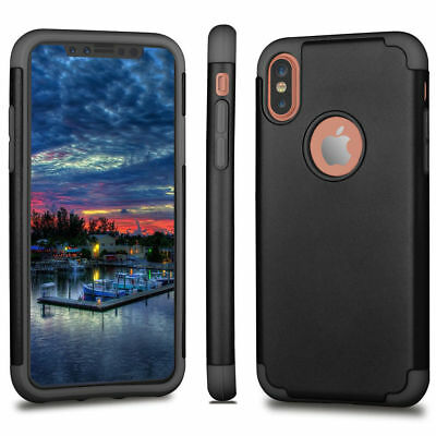iPhone X XS Case Ultra Thin Fit Slim Hard Shockproof Protective Cover For Apple