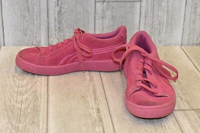 9d1ce5917950 PUMA SUEDE CLASSIC Badge Sneakers - Pink - Girls -  29.96