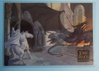 2006 Topps The Art of the Lord of the Rings Promo Card