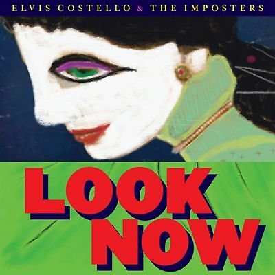 Elvis Costello & The Imposters - Look Now - New CD Album - Pre Order 12/10/2018