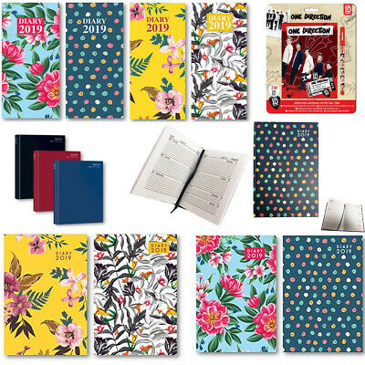 2019 Diary Office Pocket Diaries Calendar Weekly Yearly Planner Slim A5 Journal