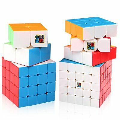 1x Moyu Mofangjiaoshi Speed Cube 2x2 3x3 4x4 5x5 Puzzle Magic Cube Stickerless