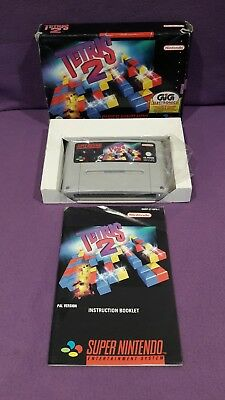 Videogame Game Game Console Snes Tetris 2 Super Nintendo Entertainment System