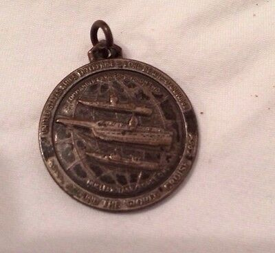 Vintage US Navy Commander Carrier Division Two Pendant Medal