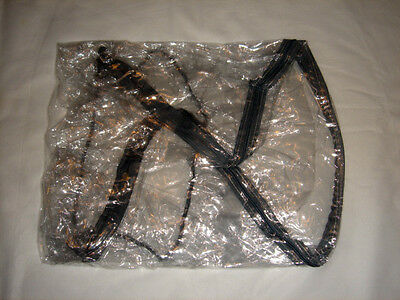 New RAINCOVER PVC Zipped to fit Hot Mom Pushchair Seat Unit & Carrycot Travel