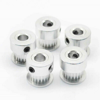 Tooth Pulley Aluminum Alloy 5/8mm Inner hole for 3D Printer New