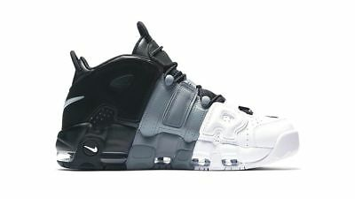 Nike Air More Uptempo '96 Leather Black-Black-Cool Grey Shoes Uomo 921948-002