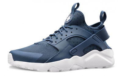 huge discount fc467 3a23a Nike Air Huarache Run Ultra Blu Bianca Navy White Shoes 819685 409 Uomo  Donna