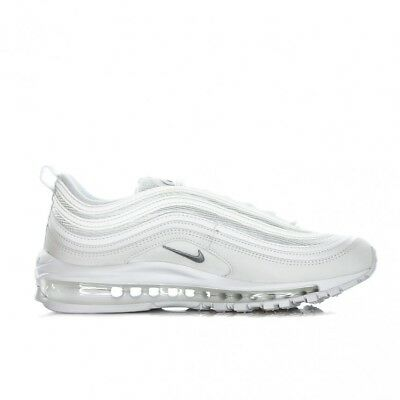 Nike Air Max 97 OG QS 921826-101 White Wolf Grey Bianco Shoes Scarpe Donna Uomo