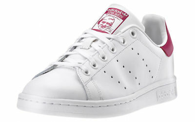 Red Stan White Sneakers Scarpe Smith Rosso Bianco Adidas Donna Shoes SqOFZTZw
