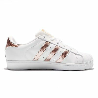 cheap for discount f3533 859d3 Adidas Superstar Originals White Bronz Rose-Gold BB1428 Donna Shoes Sneakers