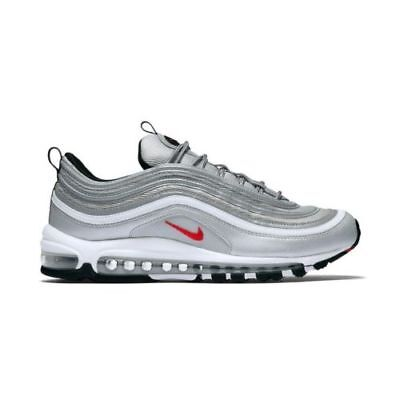 Nike Air Max 97 OG QS Originals Metallic Silver Varsity Red Scarpe Uomo Donna