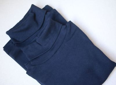 Bonpoint Girls Navy Blue Turtleneck Top Set 4 Years