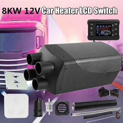Air Heater 8KW 12V Webasto Heater Thermostat Caravan Motorhome + LCD Switch QP