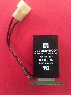 Veeder Root 779096-007-6 Digit Electronic Counter-12Vdc-1.5W- Nos