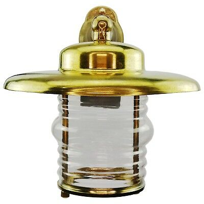 Nauta Brass Bulkhead Wall Sconce Outdoor Indoor lamp Light Nautical Marine lamp