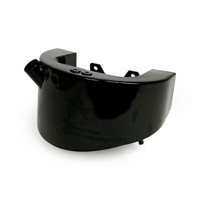 Horseshoe Oil Tank, Black for Harley Davidson Softail 00-17