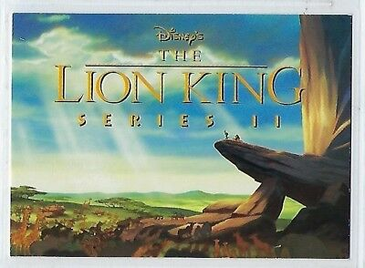 The Lion King series 2 trading cards (SkyBox) PROMO card # [NN]
