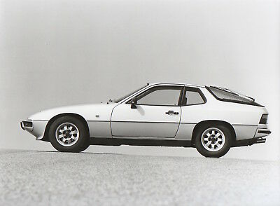 Porsche 924 Large Format Period Press Photograph