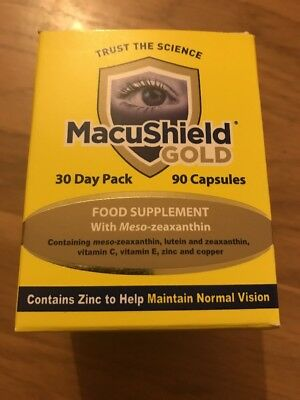 Macushield Gold 90 Capsules 1 Month Supply