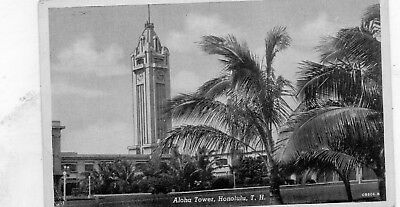 Aloha Tower  Honolulu  Hawaii  Hawaiian Islands