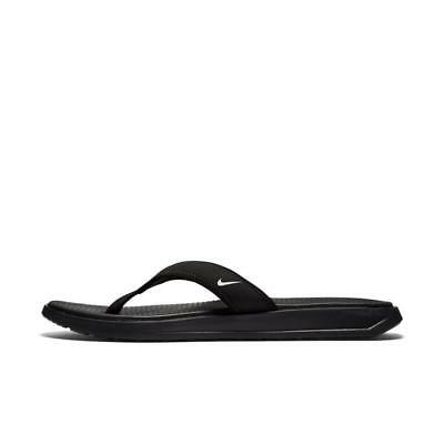 80e7d6ecbcd Nike Men s Ultra Celso Thong Sandal Black FlipFlop Casual Slippers Size  8-13 NEW