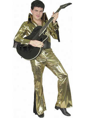 Adult Gold Rock Star Costume Charades 880