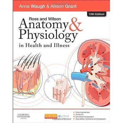 ROSS WILSON Anatomy And Physiology 12th Edition Digital PDF File