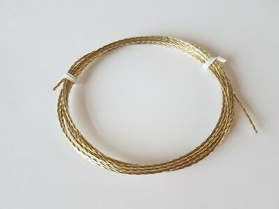 Vinyl Covered Wire for English Dial and long case clocks 1.50 Dia 1.52 Length