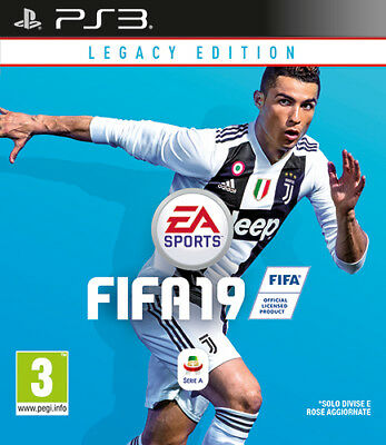 Fifa 19 Legacy Edition (Calcio 2019) PS3 Playstation 3 ELECTRONIC ARTS