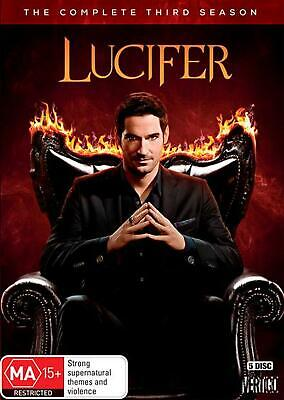 Lucifer: Season 3 - DVD Region 4 Free Shipping!