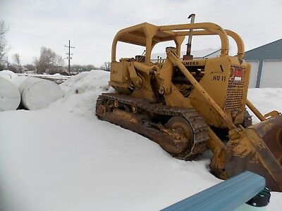 old Alliss Chalmers HD11   crawler track loader