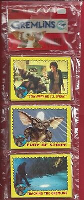 1984 Topps Gremlins Rack Pack, , 45 Cards, Warner Bros.