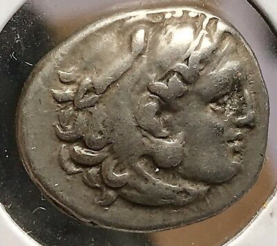 Greek Macedonia 336-323 BC Alexander III the Great Silver Drachm 924-9