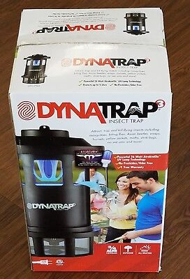 Dynatrap DT1750 3/4 Acre Corded Mosquito and Flying Insects Trap - NEW OPEN BOX