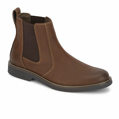 Dockers Mens Langford Casual Slip-on Rubber Sole Chelsea Comfort Boot
