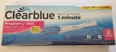 CLEARBLUE PREGNANCY TEST rapid detection 2  TESTS