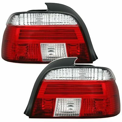 2 Feux Arriere Bmw Serie 5 E39 Berline 11/1995 A 08/2000 Blanc Rouge Style M