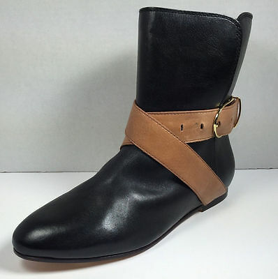 889bbedee Ted Baker London Women s Black Leather Ankle Boots Shoe Size 8 NEW!