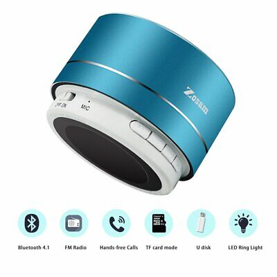 Portable Bluetooth Speaker 3W Wireless with FM Function Micro SD TF Card Support