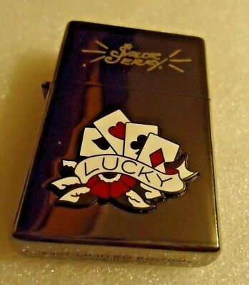 Sailor Jerry Lucky Lighter 2007 Limited Edition-Mint