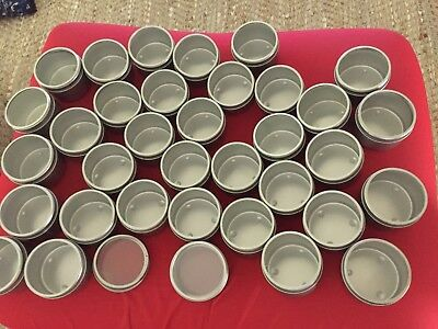 30 X Candle Travel Tins, Seconds