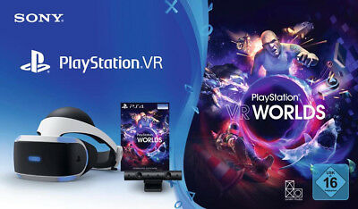Sony PlayStation Worlds Starter VR Headset Bundle