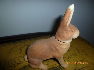 Antique Rabbit Candy Container AAFA